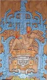 Grabplatte von Palenquy