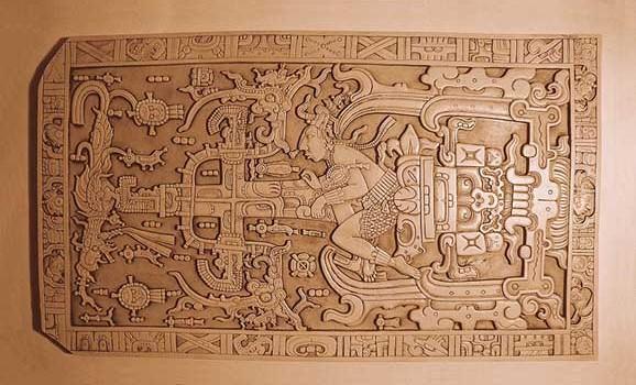 Grabplatte von Palenquey